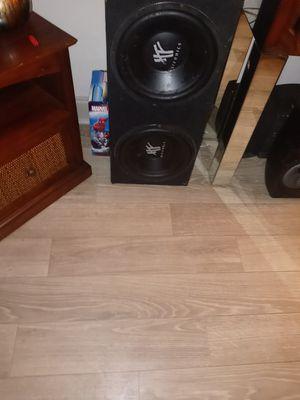 Hifonics12 inch speakers for Sale in Orlando, FL