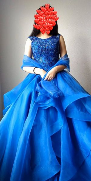 Prom / quinceanera / Sweet 16 Dress Sz 2 for Sale in Fresno, CA