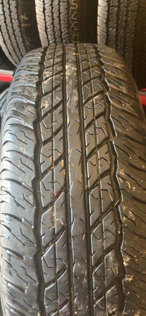 Good Used Set Tires 245/75R16 Dunlop 95% Tread Life $240 8023 Ferguson Rd Dallas Tx 75228 for Sale in Dallas, TX