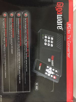 Gigaware PC to TV converter for Sale in Lake Worth, FL