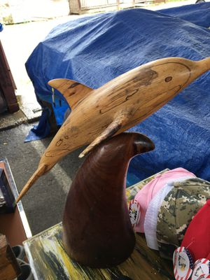Wooden dolphin for Sale in Gulfport, MS