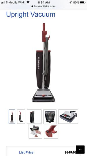 Sc889A sanitaire upright vacuum for Sale in Homestead, FL