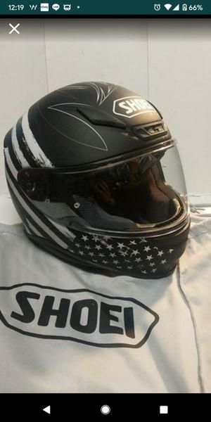 NEW SHOEI RF-1200 motorcycle helmet matte black w/gfx for Sale in Hayward, CA