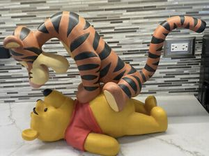 """Disney tiger and poo statue collectible 16"""" inch for Sale in Hesperia, CA"""
