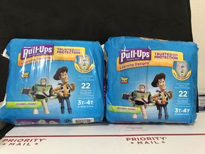 Huggies pull ups 3t-4t for Sale in Garland, TX