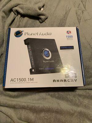 Planet audio 1500.1 watt anarchy for Sale in Odessa, TX
