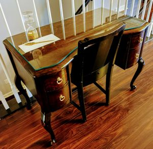 Antique Desk with Solid Brass Pulls. for Sale in Frederick, MD