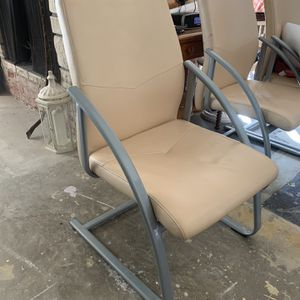 Tan Real Leather Chairs for Sale in Los Angeles, CA