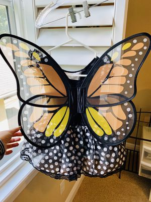 Size 3T butterfly girl costume for Sale in Tampa, FL