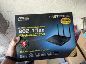 Asus router RT-AC66U for Sale in Westminster, CA