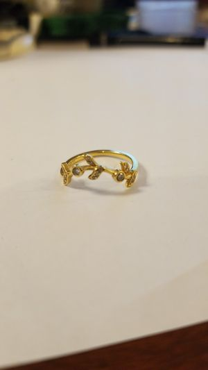 18kt ring with diamonds size 6. for Sale in Philadelphia, PA