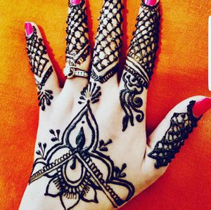 Temporary tattoo henna mehndi for Sale in Sterling, VA
