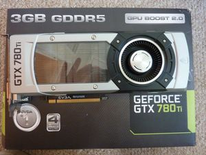 GEFORCE 780TI Video(Graphics)Card by EVGA Great Condition for Sale in Seattle, WA