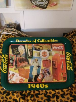 Coca cola reproduction 1940s serving Tray for Sale in Inverness, FL