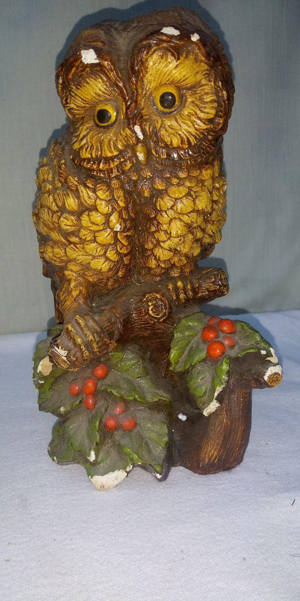 Ceramic Owl needs TLC