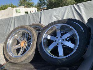 22 inch 6 lug rims for Sale in Stockton, CA