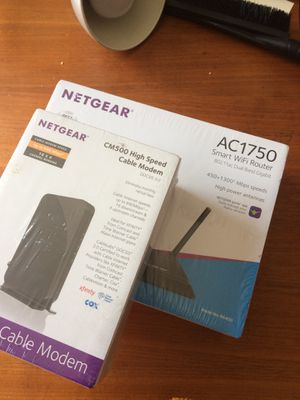 New modem and WiFi router for Sale in Pittsburgh, PA