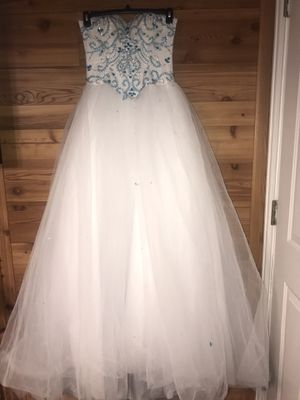 blue quinceanera dress for Sale in Park Ridge, IL