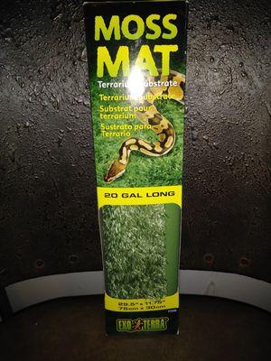 Exo Terra 20 gallon Moss Mat for Sale in Albuquerque, NM
