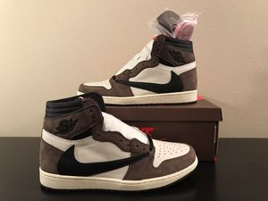 Air Jordan retro 1 Travis Scott size 10.5 ds new with proof of purchase for Sale in Bonney Lake, WA