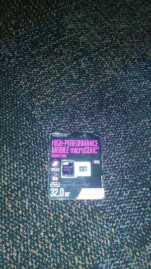 32 g.b. sd card for Sale in Tampa, FL