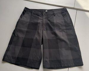 Lululemon Men's ABC Shorts Gray Plaid Print Size 36 for Sale in Royal Palm Beach, FL