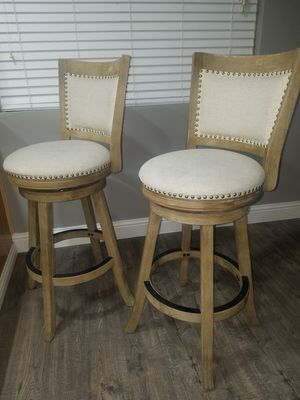 Bar stool set of 2 for Sale in Fresno, CA