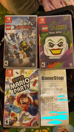 Nintendo switch games for Sale in Lancaster, OH