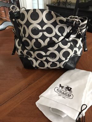 Coach Hand Bag with Coach storage bag for Sale in Milford, CT