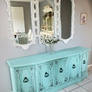 Shabby Chic Antique Buffet / Dresser/ Sideboard for Sale in Riverside, CA