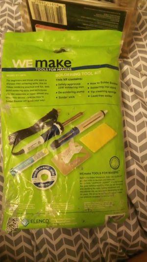 New Soldering tool kit for Sale in Phoenix, AZ