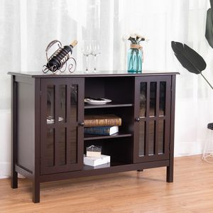 """Wood TV Cabinet Stand TVS up to 45"""" Entertainment Center Storage Console Stands Display Shelves for Sale in Sacramento, CA"""