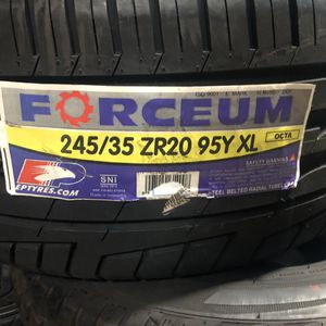 245/35Z/20 95Y XL Forceum Octa for Sale in Los Angeles, CA