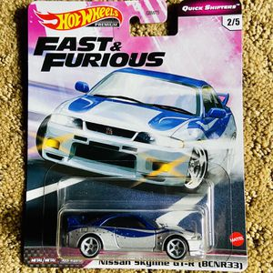 Hot Wheels Fast and Furious Nissan Skyline GTR R33 for Sale in Irvine, CA