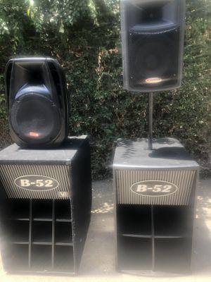 Equipo de dj amplificado for Sale in South Gate, CA