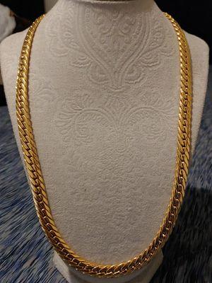 14K Gold Filled Herringbone/Cuban style chain for Sale in Mesa, AZ
