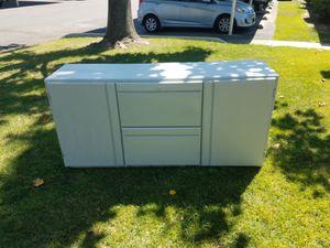 Solid Wood Credenza Dresser for Sale in Fresno, CA