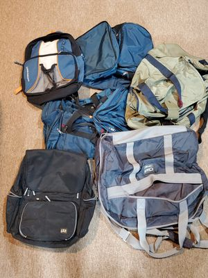 Lot of 6 Travel Bags Duffel Bags American Tourister Lot for Sale in Chicago, IL