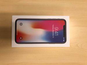 IPhone X -64 gb Unlocked for Sale in Clovis, CA