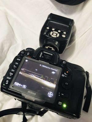 Nikon D7000 16.2MP Digital SLR + Tamron SP AF 28-105mm + Opteka 82mm + Nikon AF-S DX 18-55mm + Nikon 50mm w/ 52mm Macro Lens + Carrying Case for Sale in San Leandro, CA