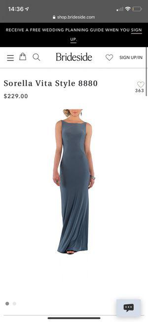 Sorella Vita size 6 prom dress for Sale in Bristol, PA