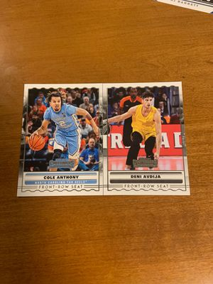 Cole Anthony and Deni Avdija rookie NBA cards for Sale in Chicago, IL
