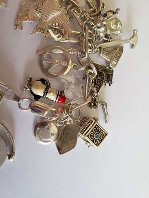 Charm Bracelet with charms for Sale in Rancho Santa Margarita, CA