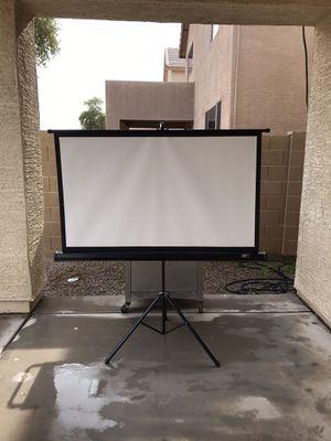 "58"" Elite Tripod Screen for Sale in Laveen Village, AZ"