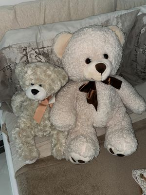 Two Teddy bears Beige for Sale in Miami, FL