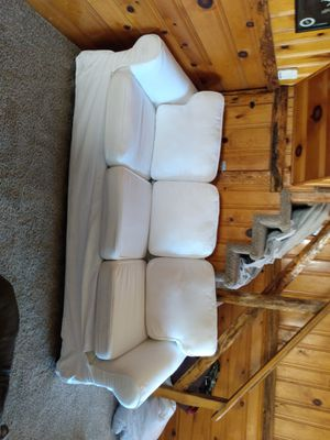 White couch barely used for Sale in Big Bear Lake, CA