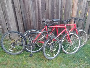 3 bicycles free for Sale in Tacoma, WA