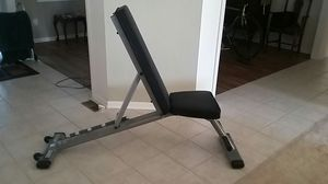 Sturdy fold down Body Solid weight bench for Sale in Columbus, OH