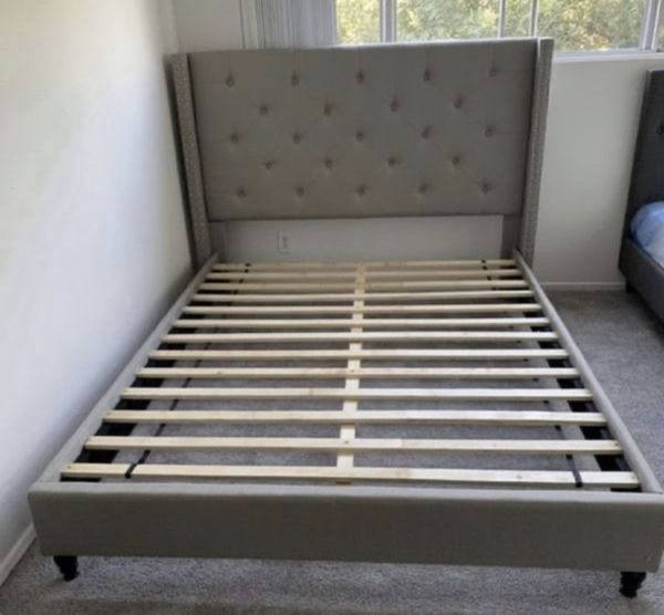 King Size Bed with Mattress Included