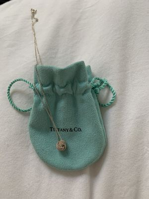 Worn Twice Tiffany's Knot Pendant for Sale in San Diego, CA